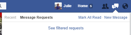 Filtered requests