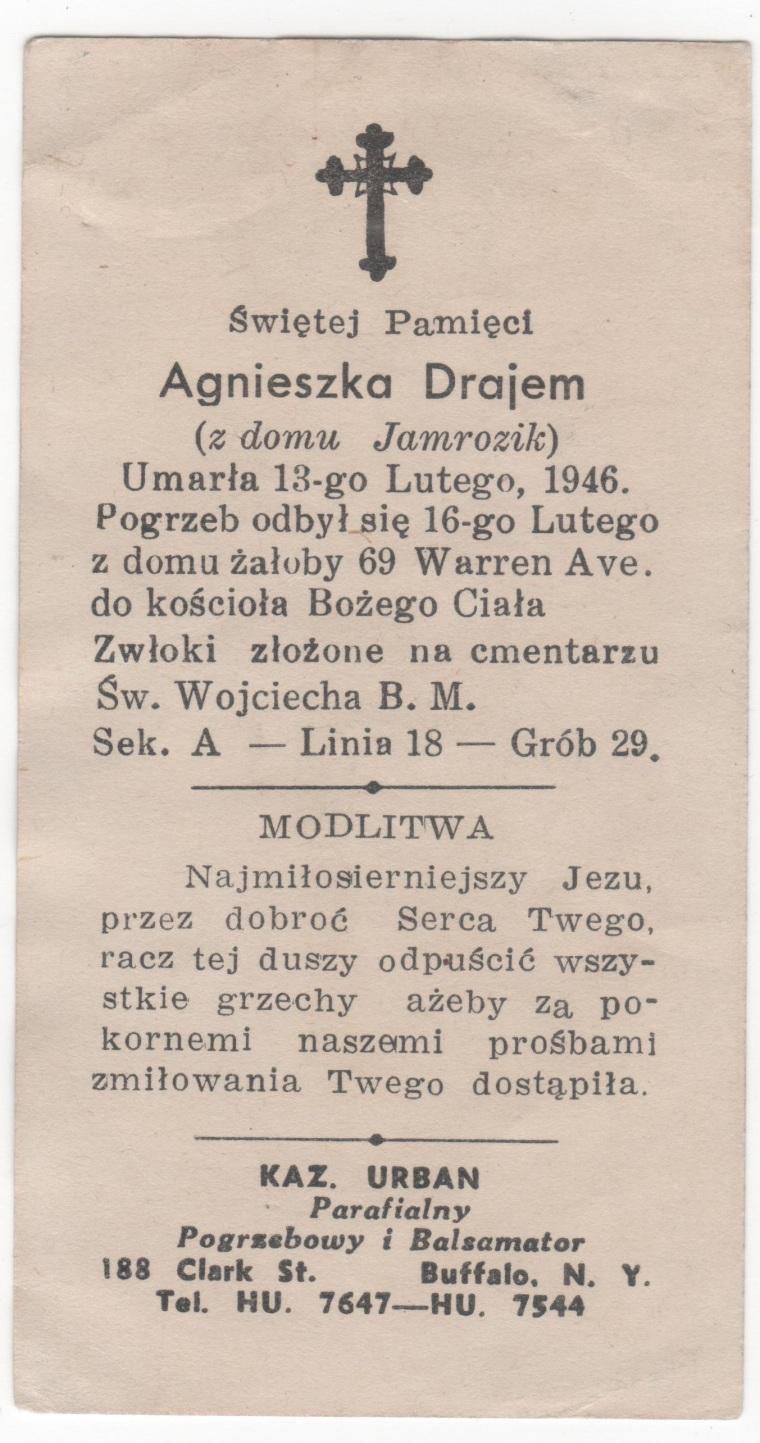 Agnieszka Drajem obrazek 1946