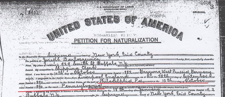 Joseph Bartoszewicz Petition for Naturalization crop.png
