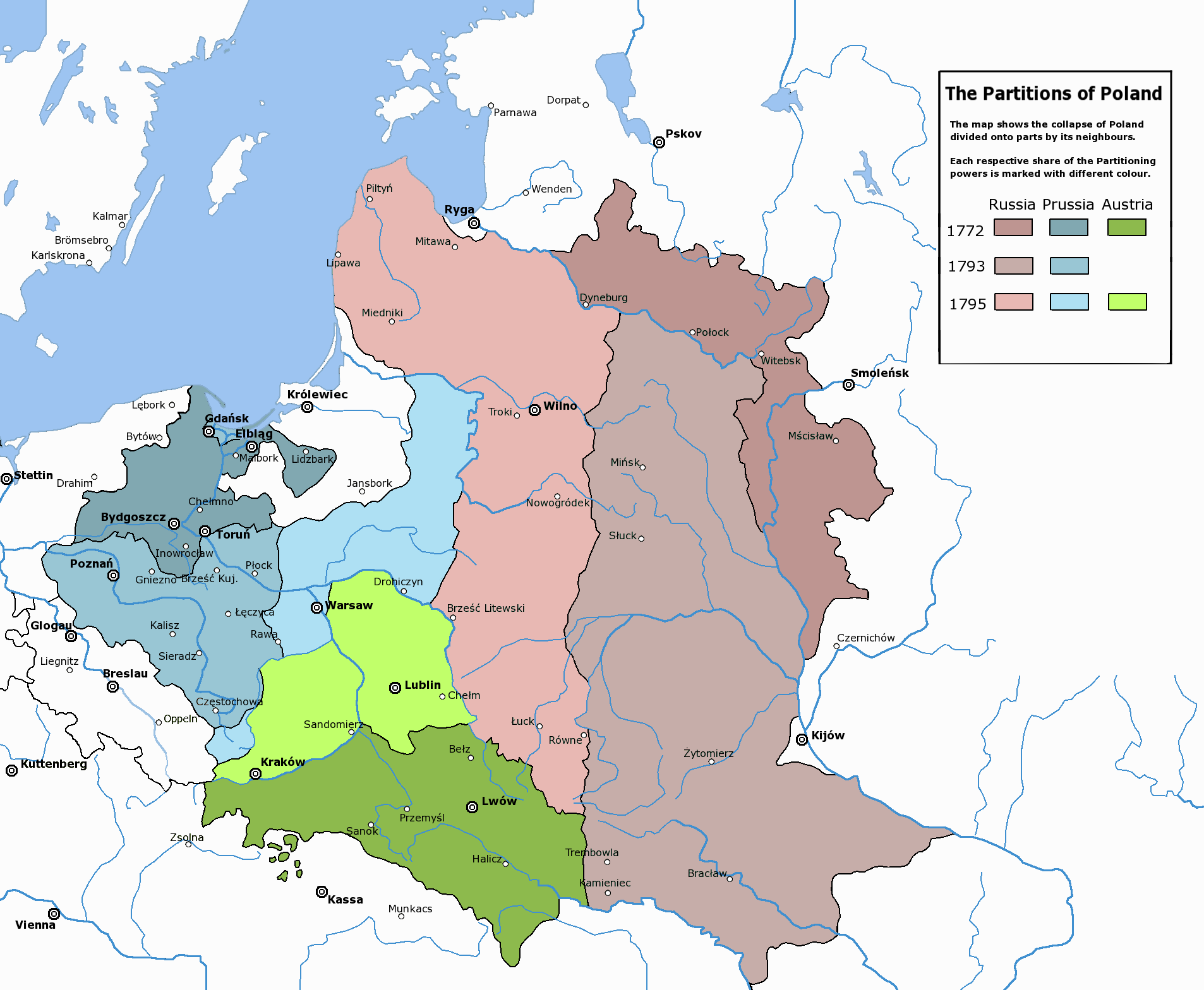 Those Infamous Border Changes A Crash Course in Polish History