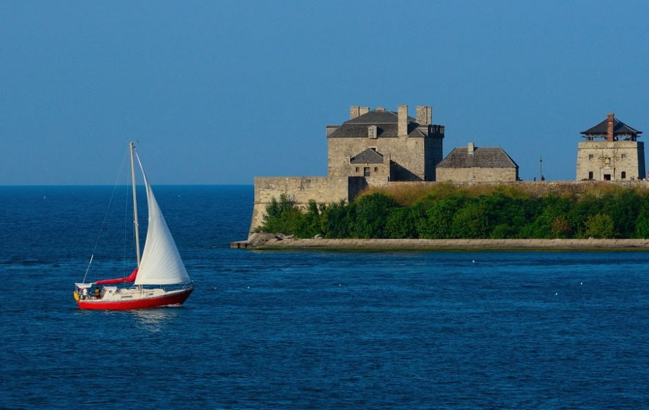 Sailboat Niagara River Sailing Fort Niagara
