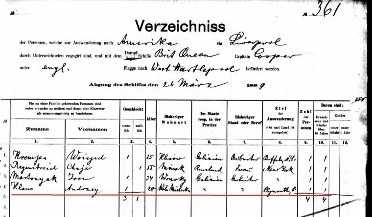 Andrzej Klaus manifest marked