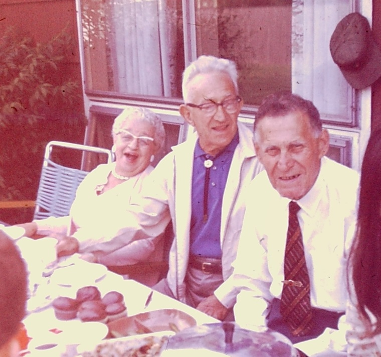 My Three Great Grandparents 1969