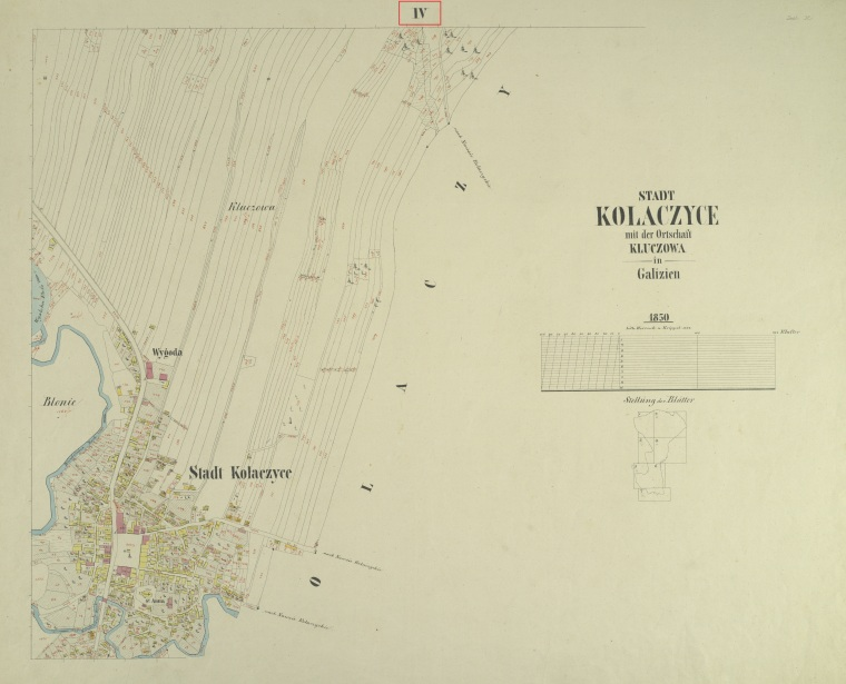 Kolaczyce map 4 marked