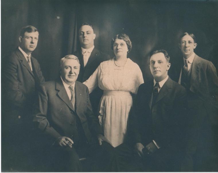 Roberts family portrait