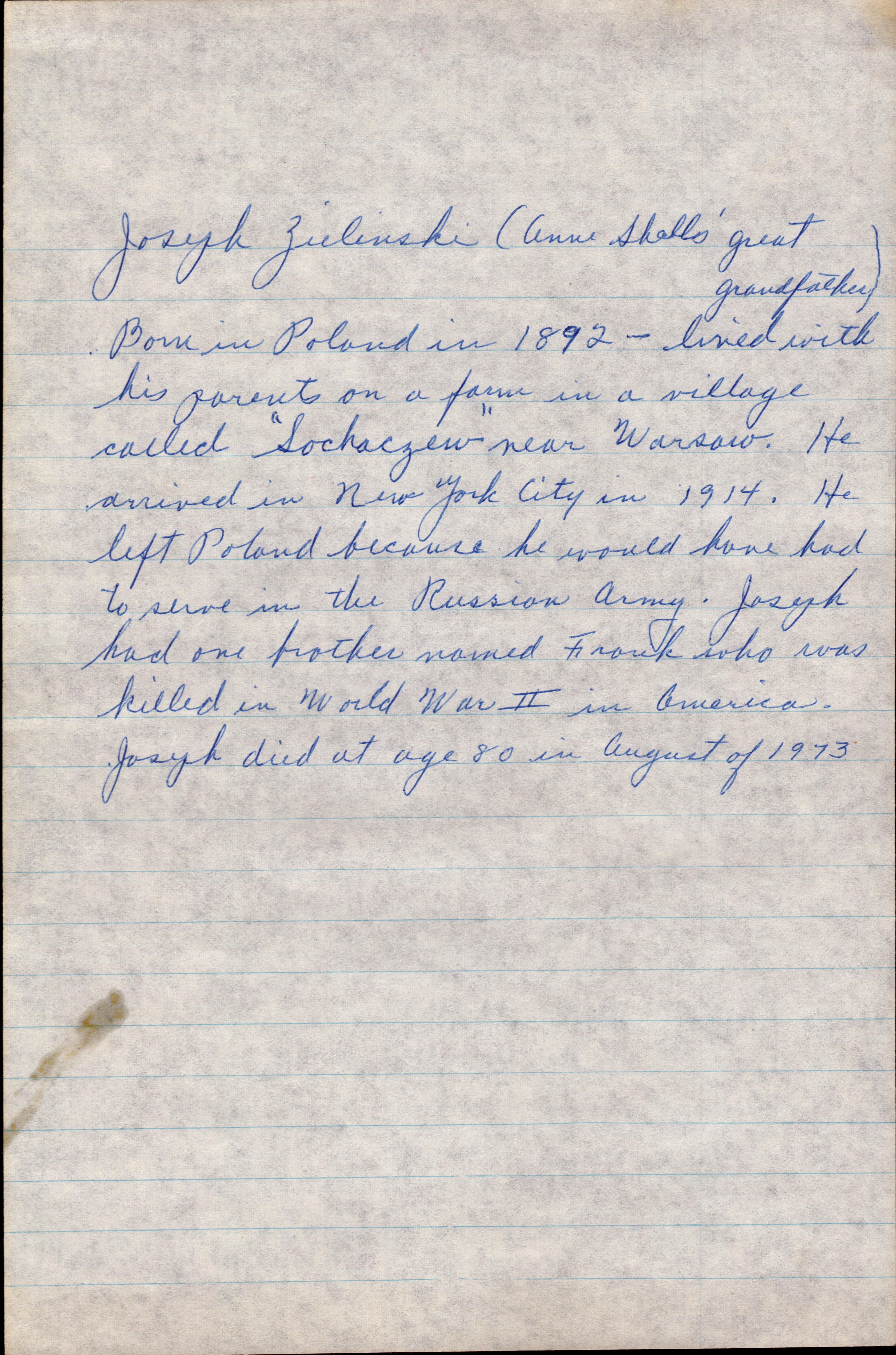 Letter from Grandma Helen 1977 page 3