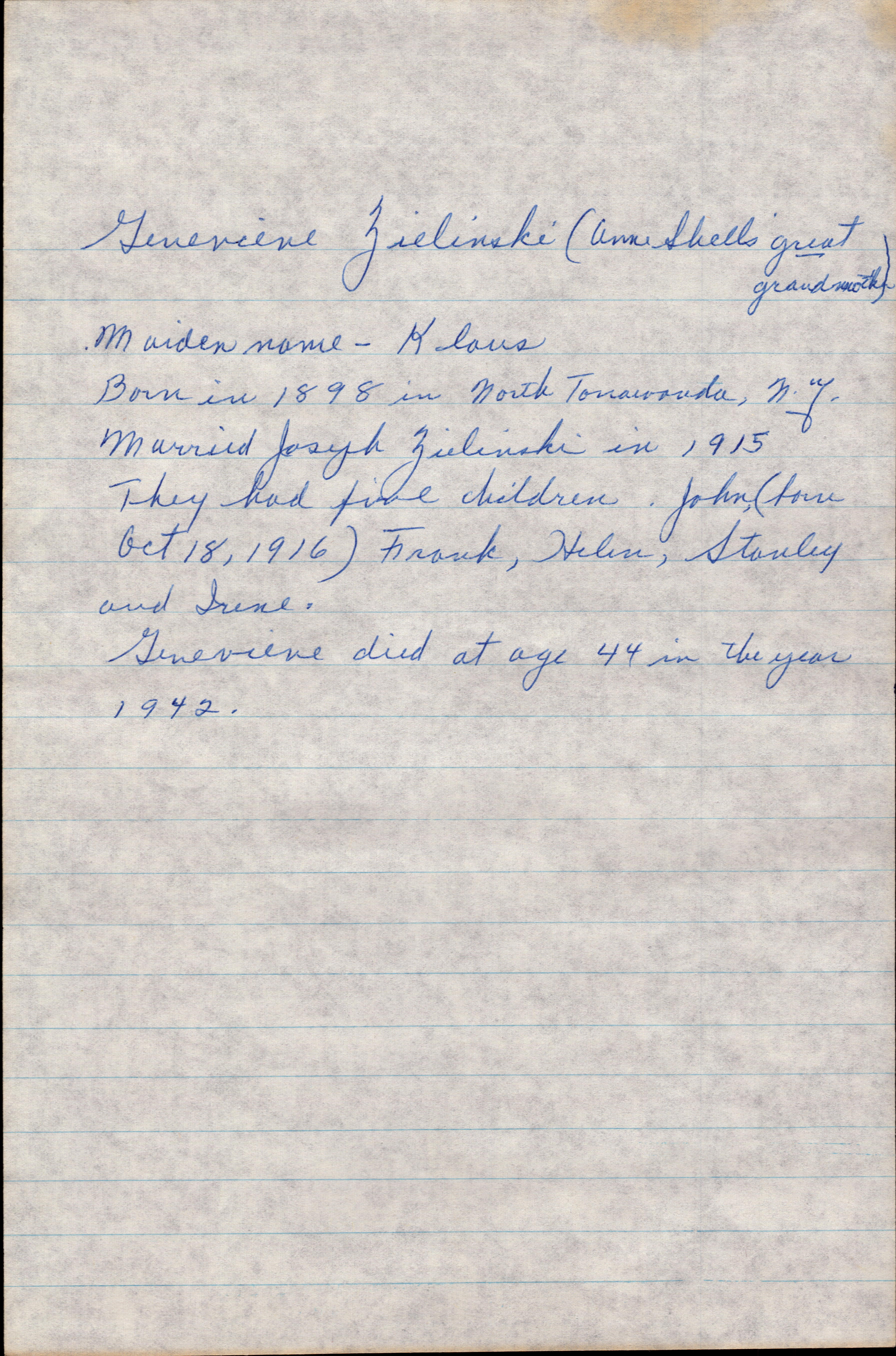 Letter from Grandma Helen 1977 page 4
