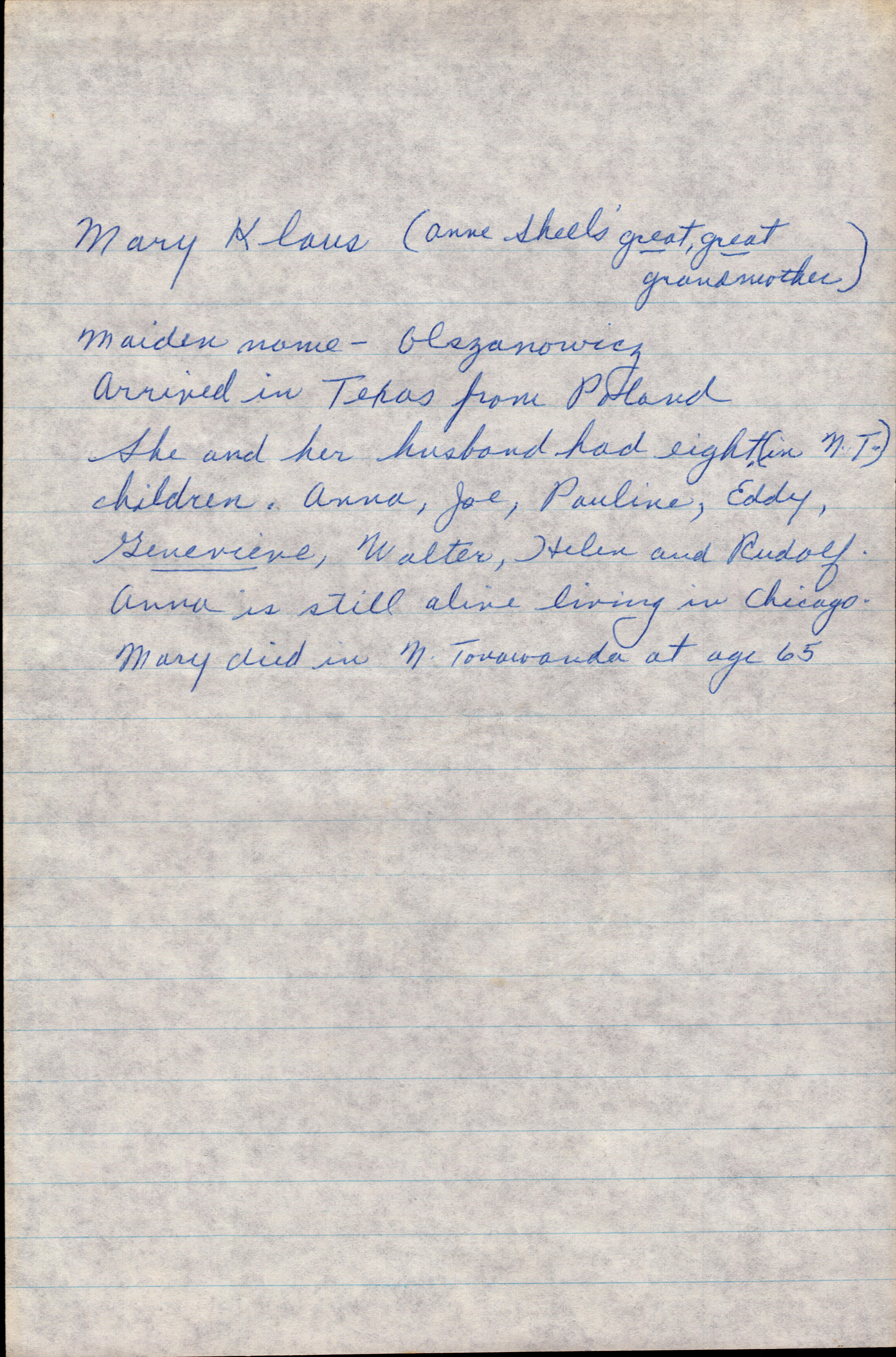 Letter from Grandma Helen 1977 page 5