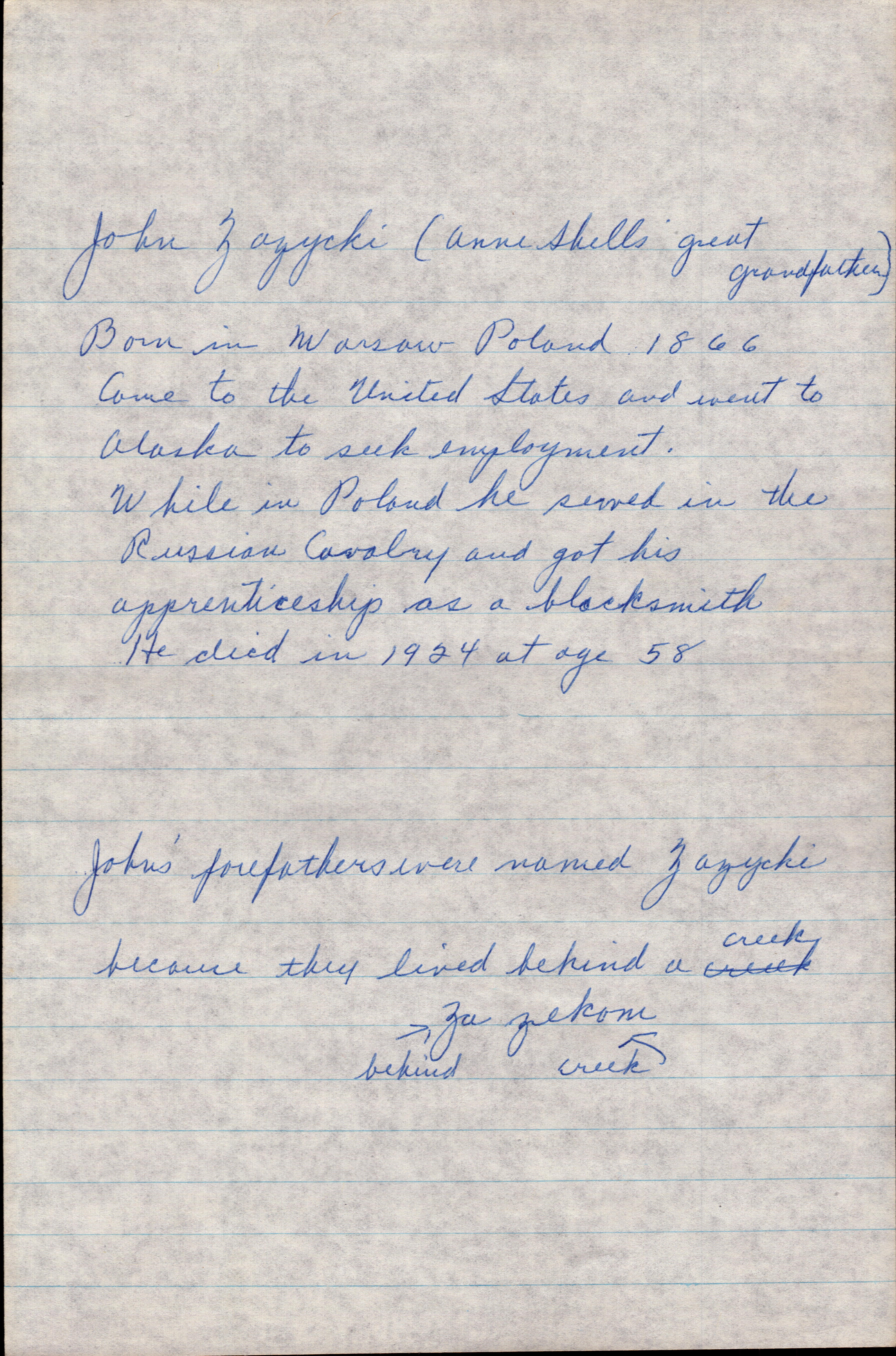 Letter from Grandma Helen 1977 page 6