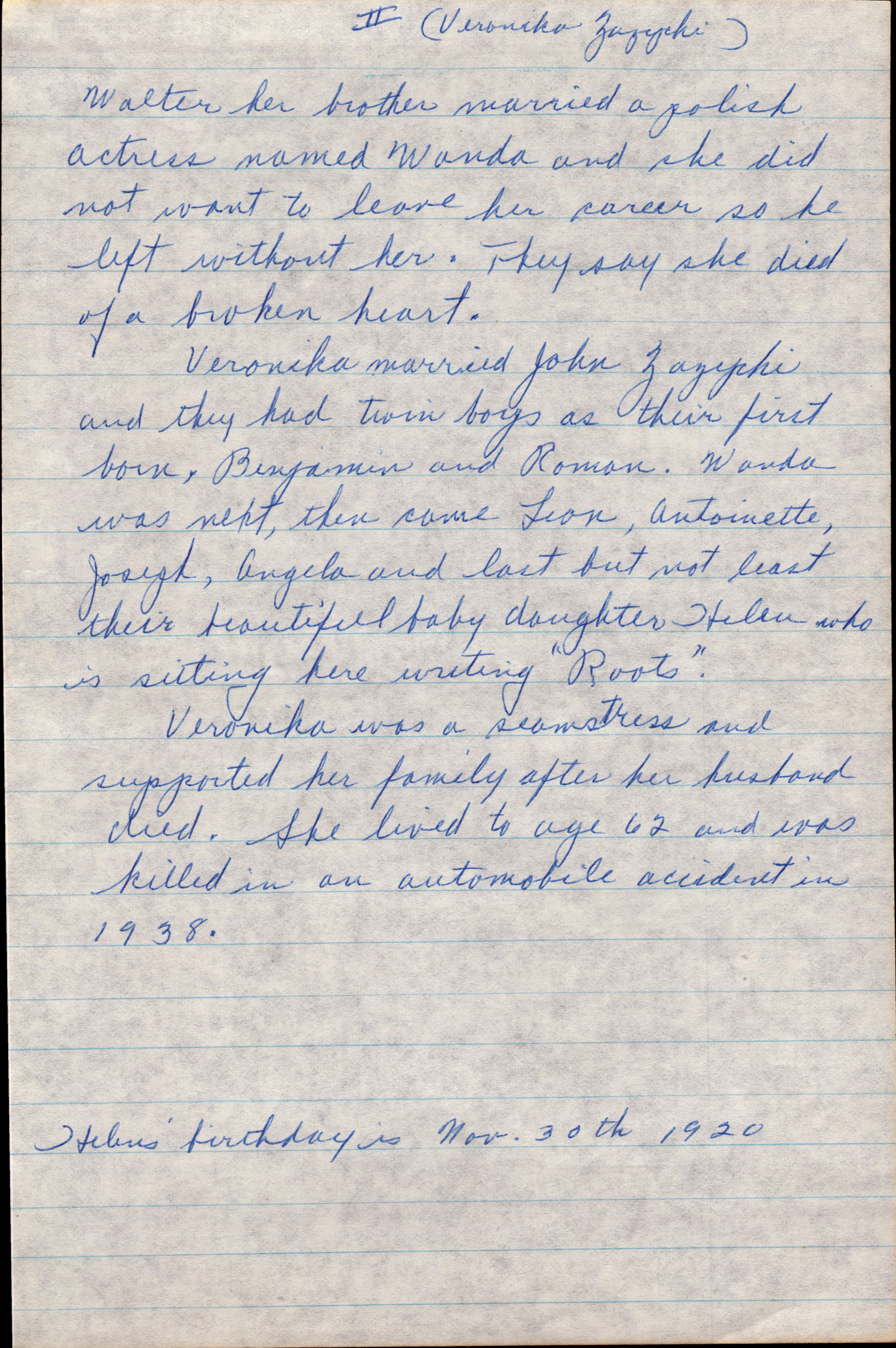 Letter from Grandma Helen 1977 page 9